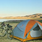 Montana bike touring and camping